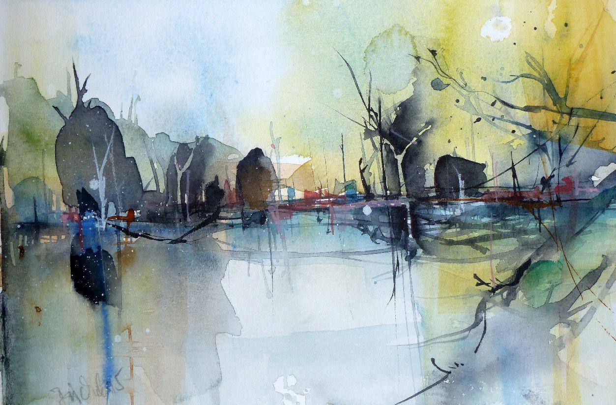 Epingle Par Heinz Buchele Sur Aquarelle En 2020 Peinture