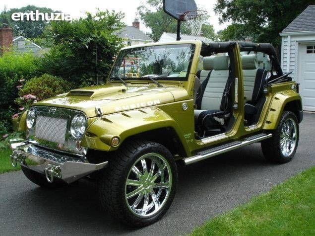 2007 Jeep Wrangler JK Rubicon SRT6 For Sale California  Someday