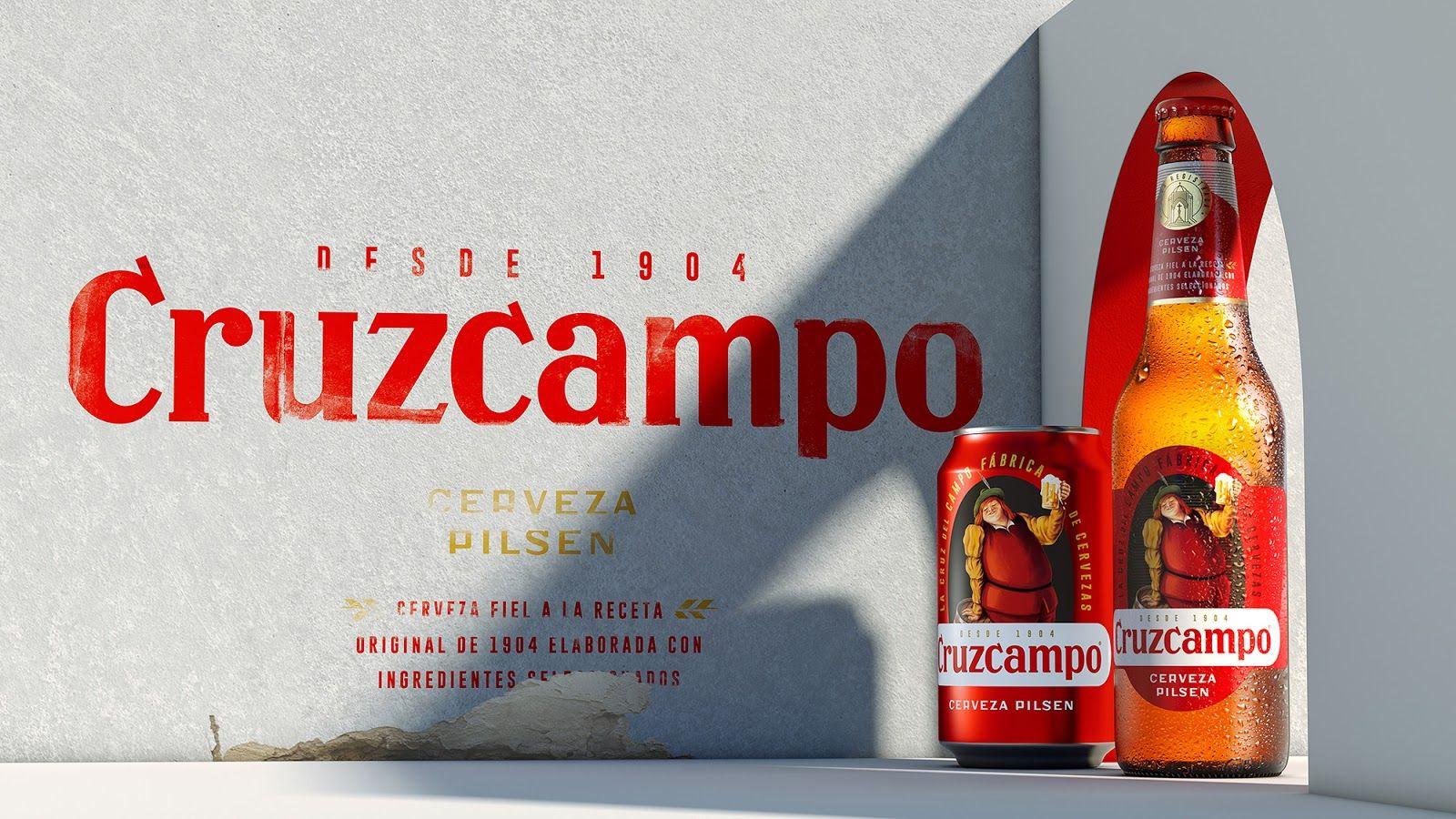 Cruzcampo Branding Design Creative Packaging Design Beer Packaging