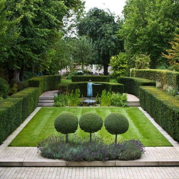 43 must seen garden designs for backyards backyard for Formal landscape design