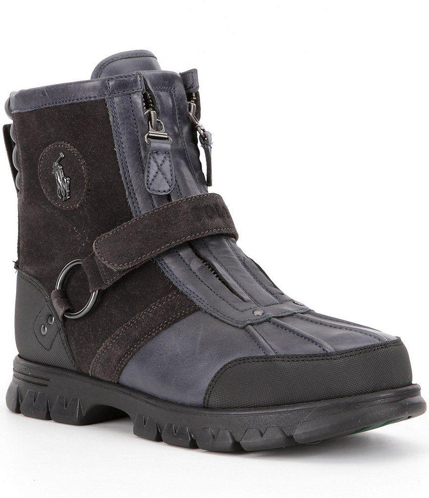 Complete Price Mens Boots - Polo Ralph Lauren Landen Tan/Black