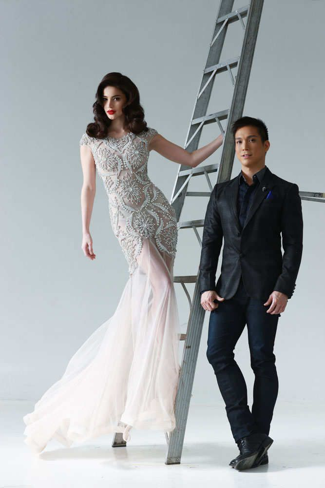 Anne Curtis wears Francis Libiran, shown in ANTM. | Icon inspiration ...