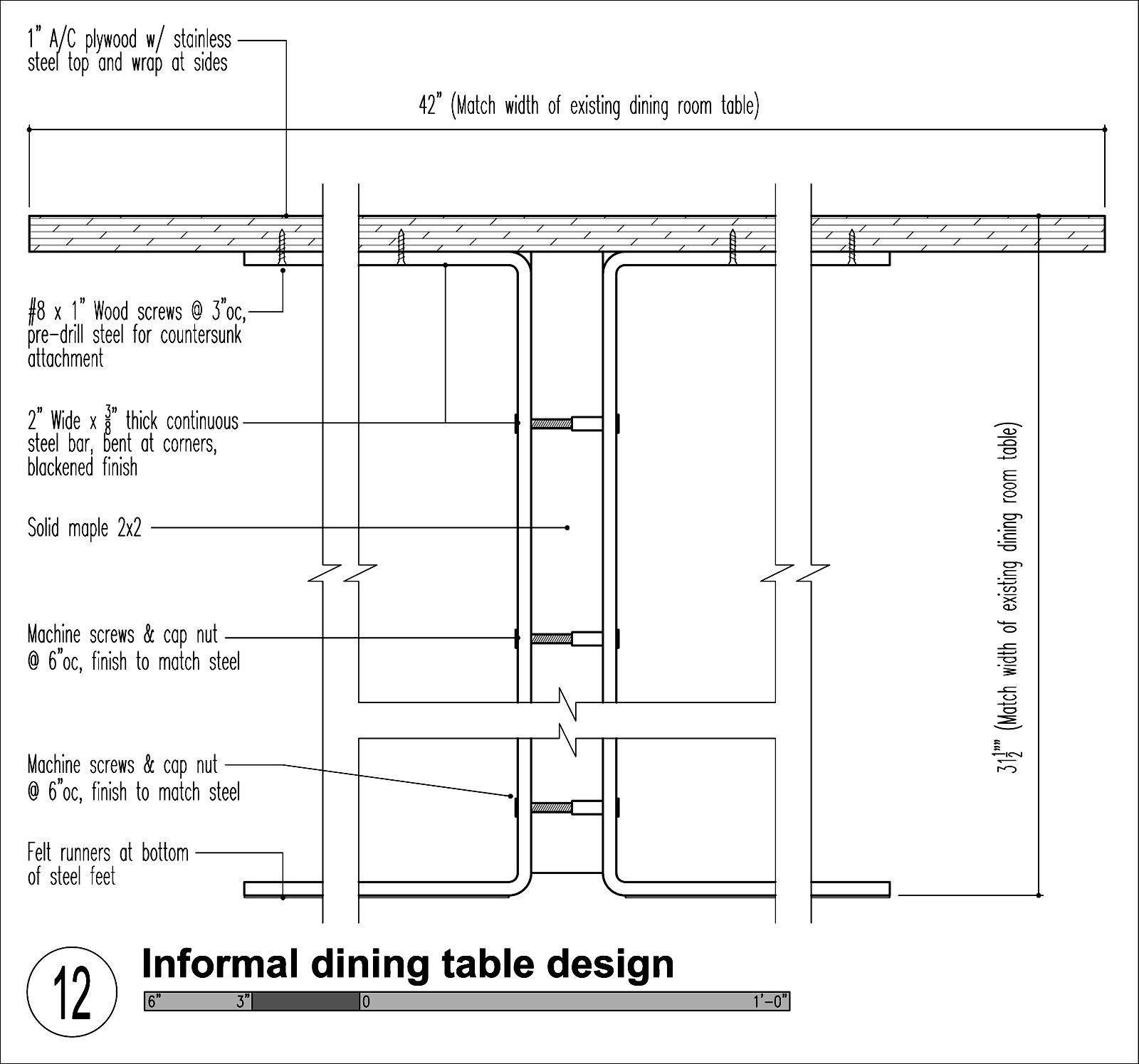 Kitchen Nook Measurements: Modern Breakfast Nooks