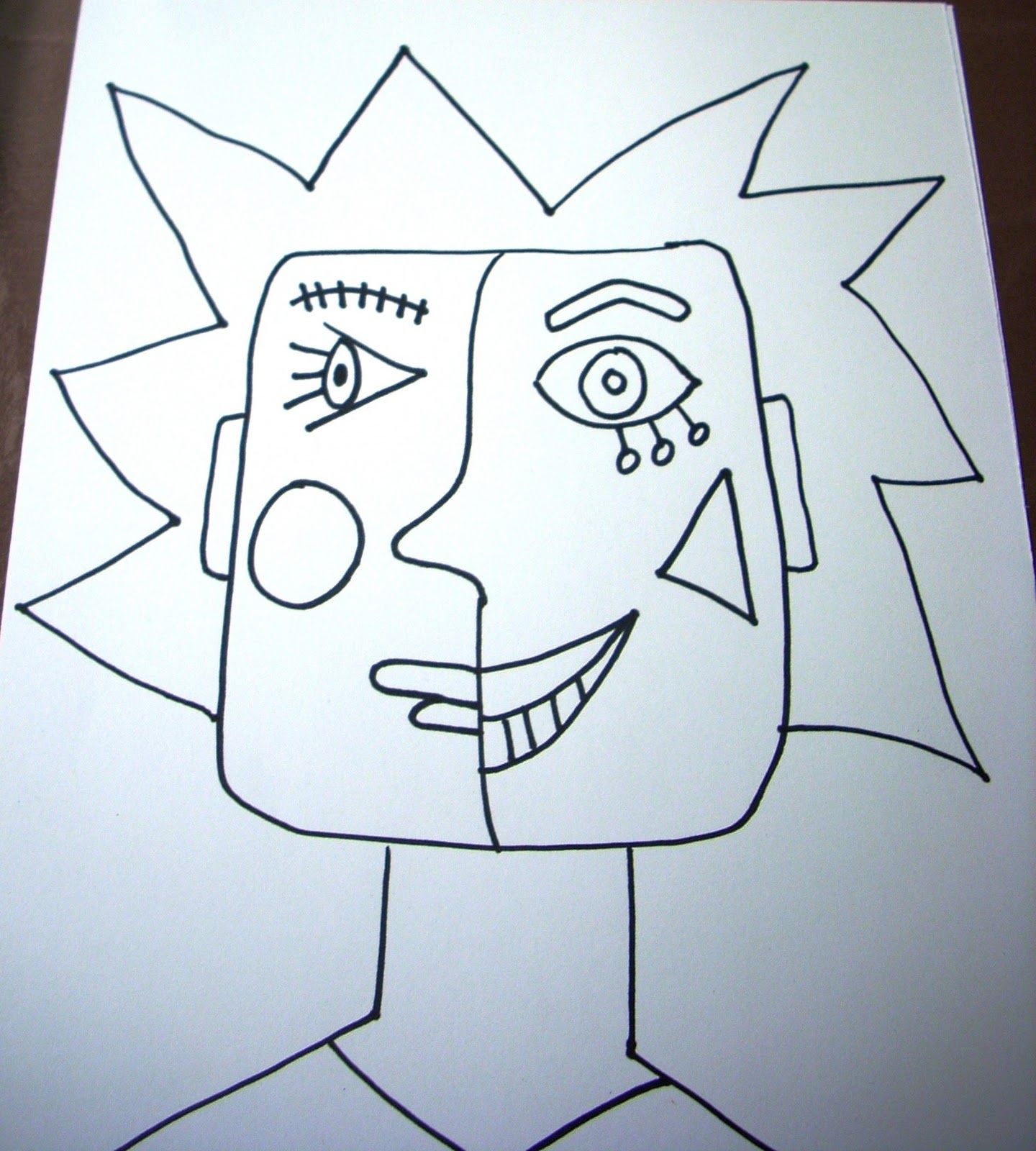 Pablo Picasso Cubism For Kids