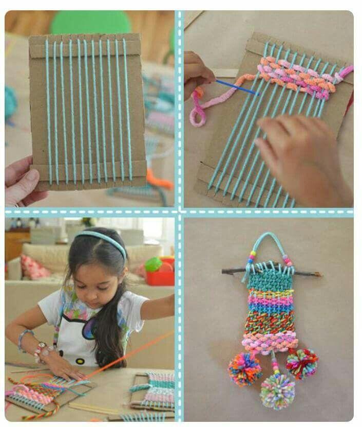 Pin von Rebecca Gerken auf Kids Projects | Pinterest | Webrahmen ...