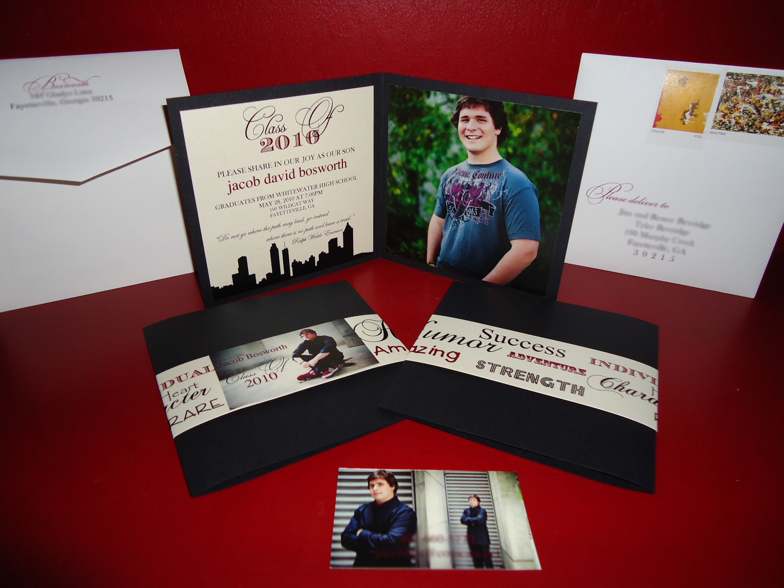17 Best images about Grad – Homemade Graduation Invitations
