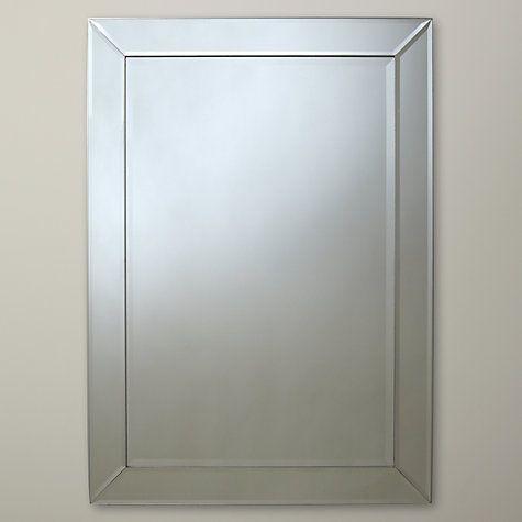 Buy John Lewis Bevel Simple Mirror Online at johnlewis.com