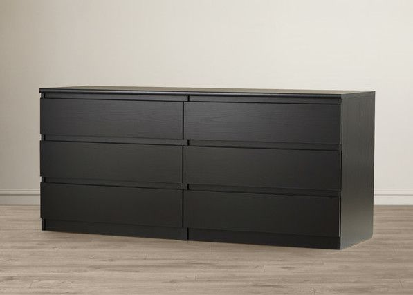 Malm Dressers Ikea For The Home Alternative Room Ideas Gravity 6 Drawer