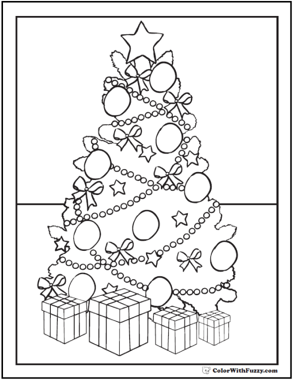 Pretty Christmas Tree Coloring Pages Christmas Tree Coloring Page Tree Coloring Page Easter Coloring Pages
