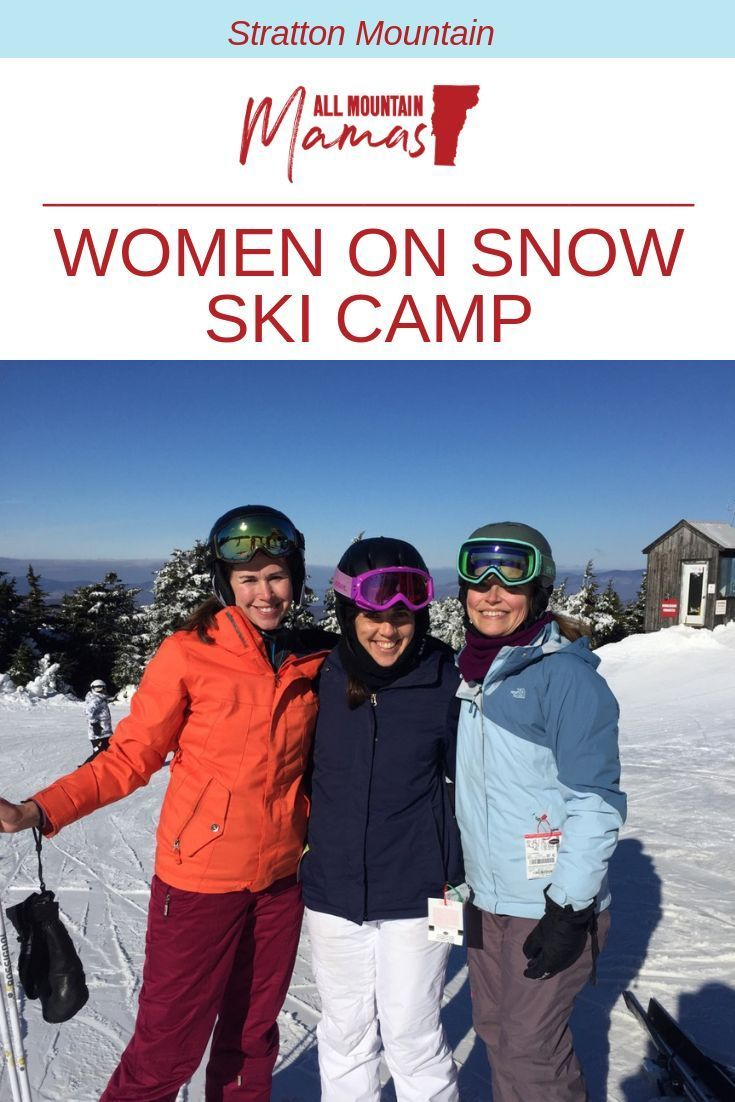 Whether you are first time skier or looking to improve your skills, theStratton Women on Snow Camp will help you achieve that. The professional coaches and instructorsmake skiers of all abilitiesfeel comfortable. #skilessons #ski #skiing #Vermont #Stra