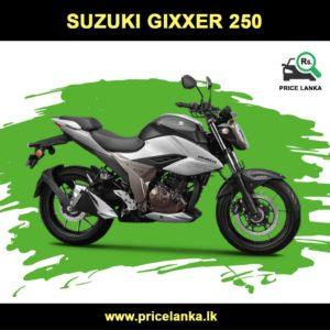 Suzuki Gixxer 250 Price In Sri Lanka In 2020 Suzuki Suzuki Bikes