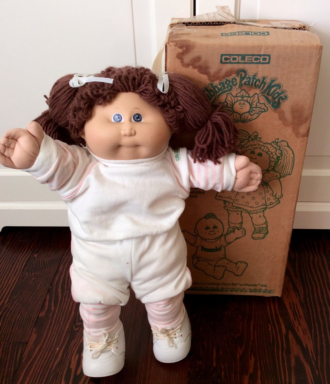 1985 Cabbage Patch Kids Girl Coleco Doll Iob Vintage Cabbage Etsy Cabbage Patch Dolls Cabbage Patch Kids Cabbage Patch Kids Dolls