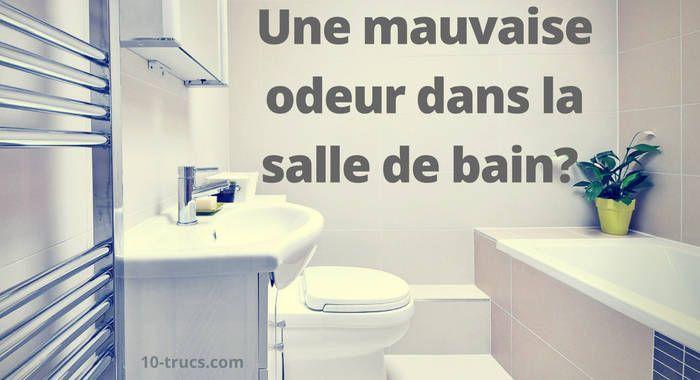 Mauvaise odeurs dans la salle de bain salle de bain - Mauvaise odeur dans canalisation salle de bain ...