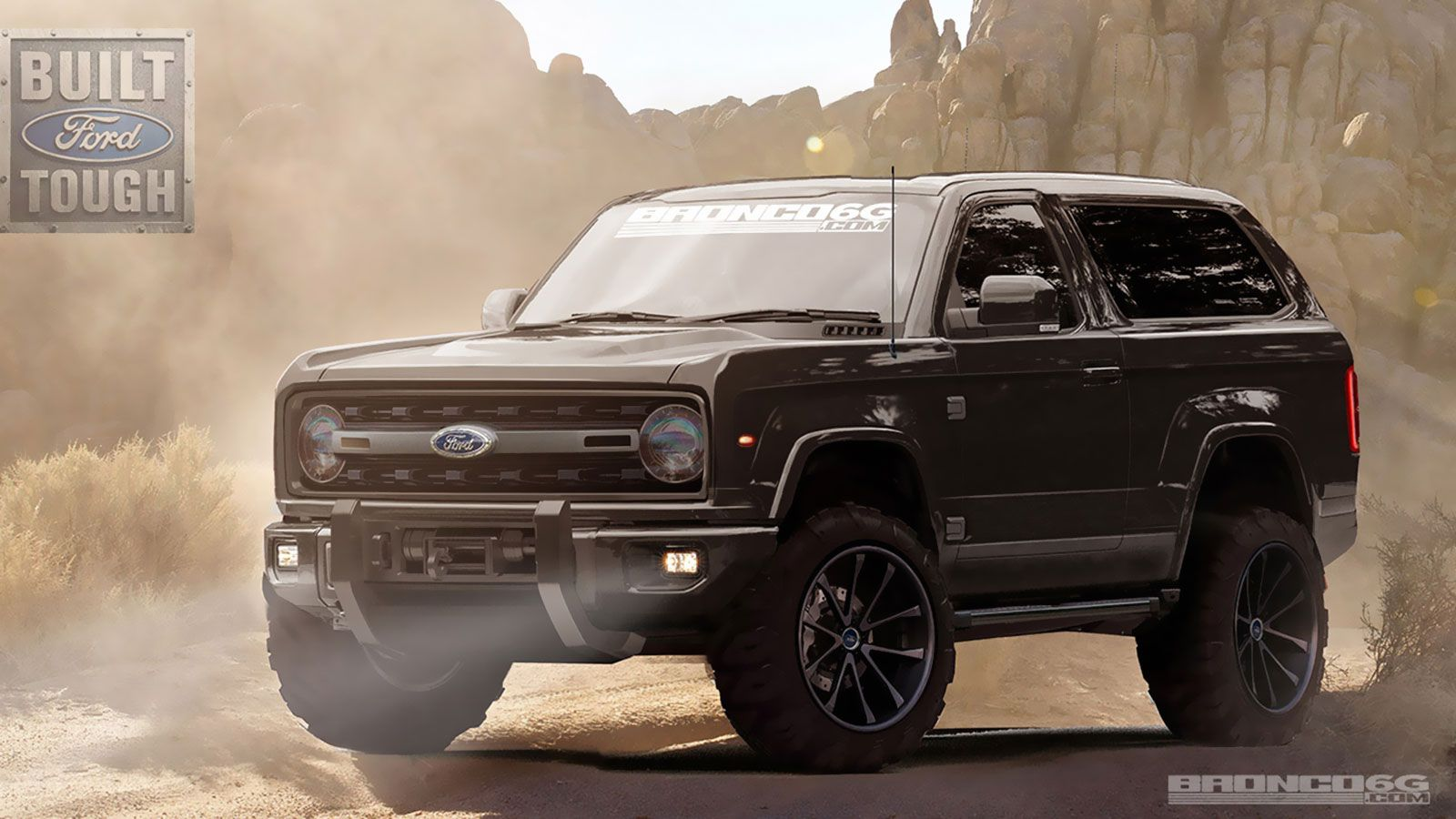 2020 Ford Bronco Concept By Bronco6g Ford Bronco Ford Bronco Concept Bronco Concept