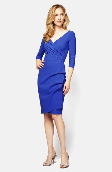 Alex Evenings Jersey Faux Wrap Dress Available At #Nordstrom. Faux Wrap  DressSurplice DressWedding Guest ...