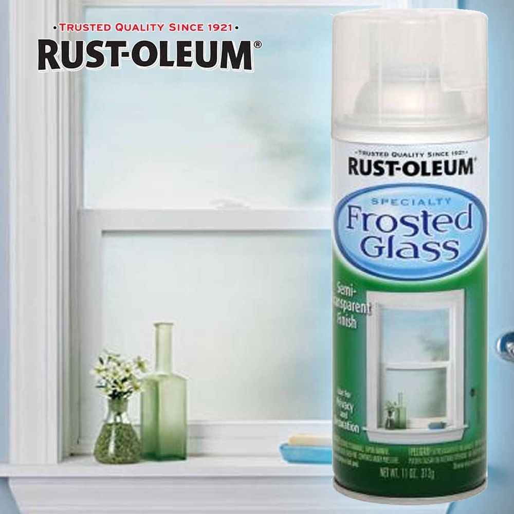 Rustoleum Rust Oleum Frosted Glass Spray Paint Can 312g Frosted