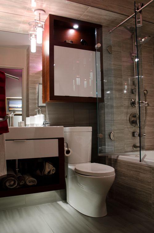 Condo Bathroom 5'x8'  My Work  Pinterest  Condo Bathroom Glamorous 5 X 8 Bathroom Design Decorating Inspiration