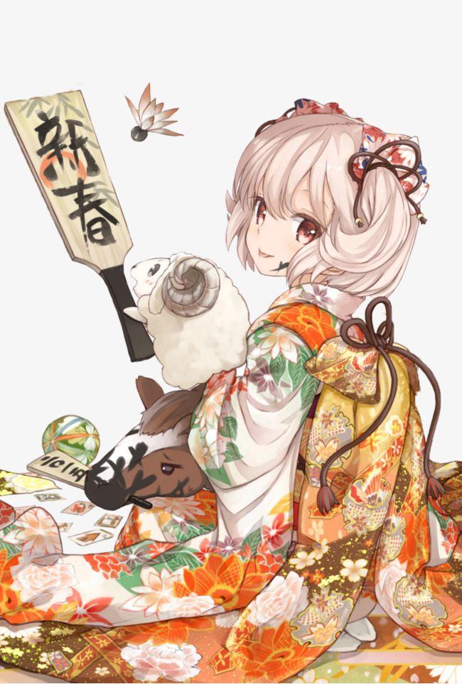 Character 角色 人物造型 おしゃれまとめの人気アイデア Pinterest Lu 正月 イラスト 新年 イラスト カワイイアニメ