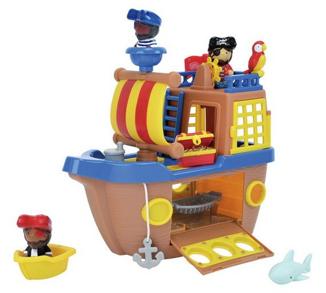 Buy Chad Valley Tots Town Pirate Ship Playset Toy Boats Argos
