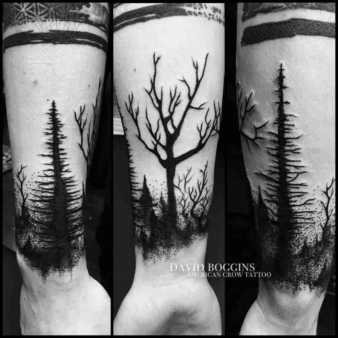 Woods Tattoo Tattoos Pinterest Tetoválás