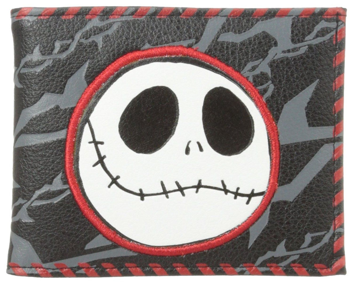 Disney Nightmare Before Christmas Men's Billfold Wallet with Jack's Face >>> Read more reviews of the product by visiting the link on the image.
