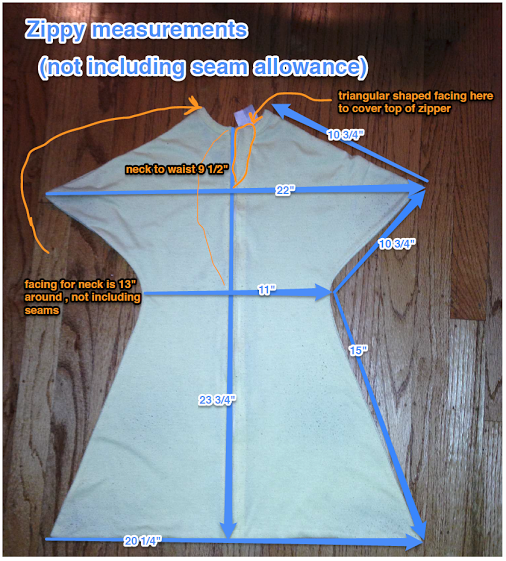Specific dimensions for the Zipadee Sleep sack. Want to make your ...