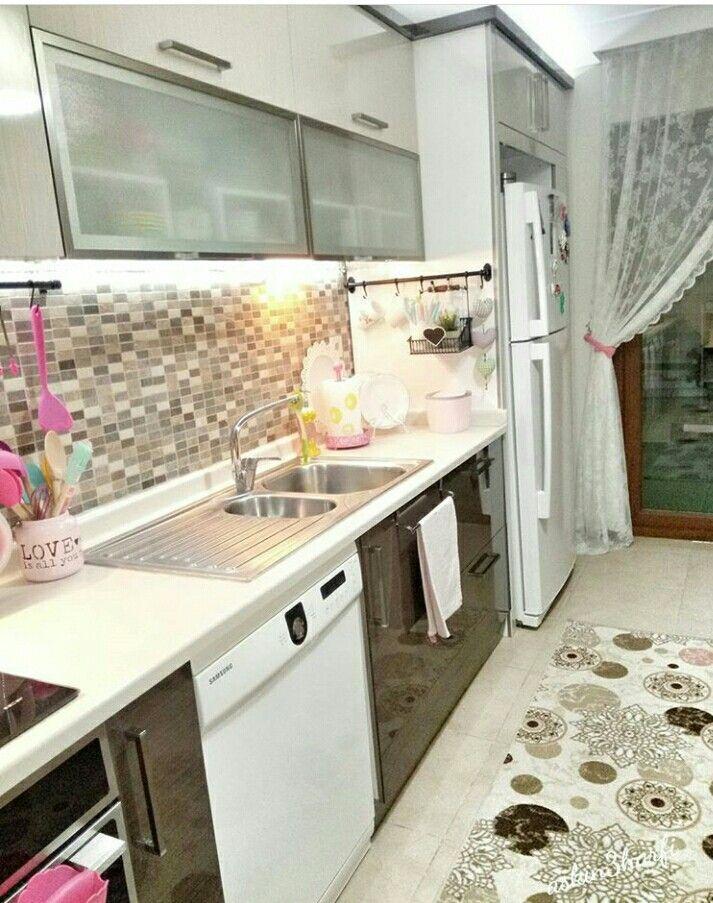 Buzdolabinin Yanina Dolap Mutfak Dolaplar Dekorasyon