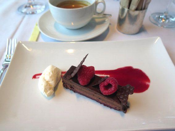 Chocolate Raspberry Torte - Restaurante Asiate Mandarin Oriental