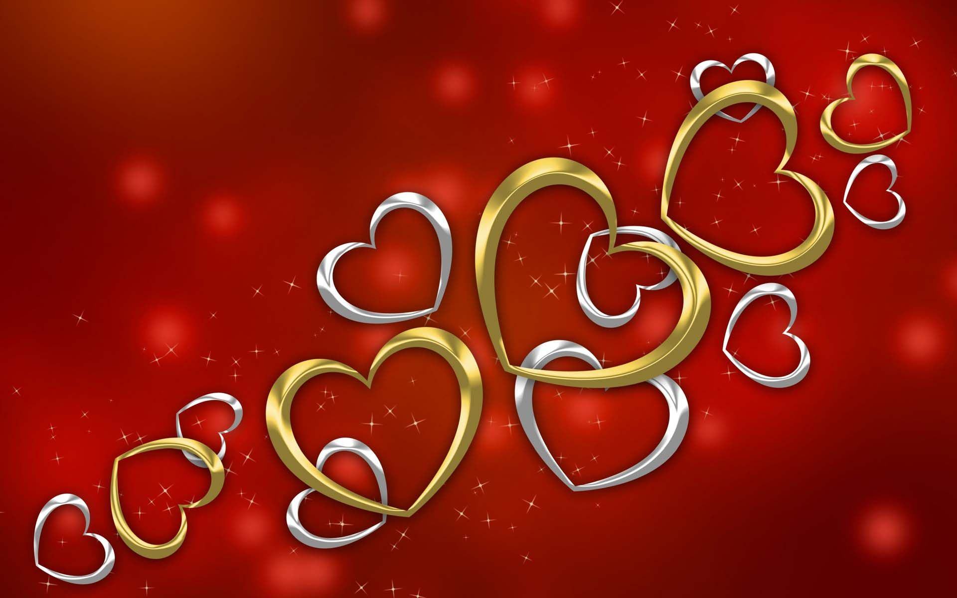 Love Gold And Silver Hearts Wallpaper 1920 1200 9176 Cool Pc Silver Heart Wallpaper Heart Wallpaper Silver Heart