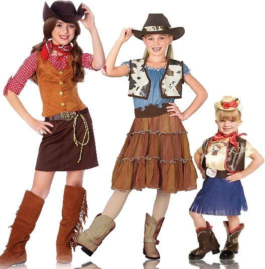 Kostuums, verkleedkleding COWBOY COWGIRL CHILDRENS KIDS BOYS