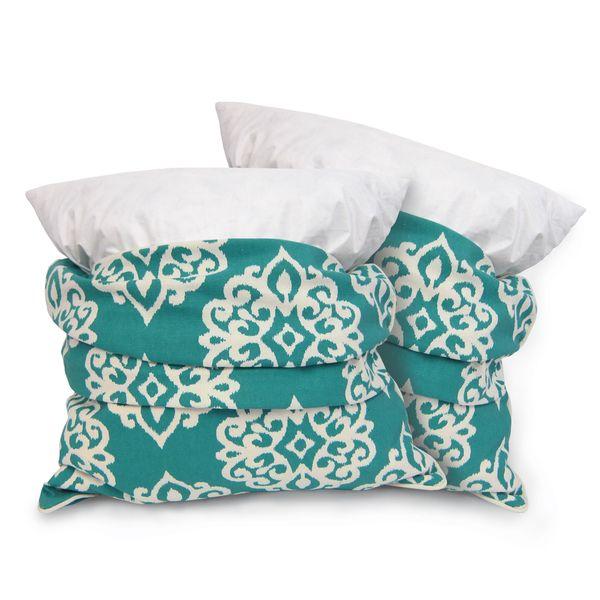 Lush Decor Sophie Zipper Throw Pillow Shell Set Of 40 Overstock New Lush Decor Pillows