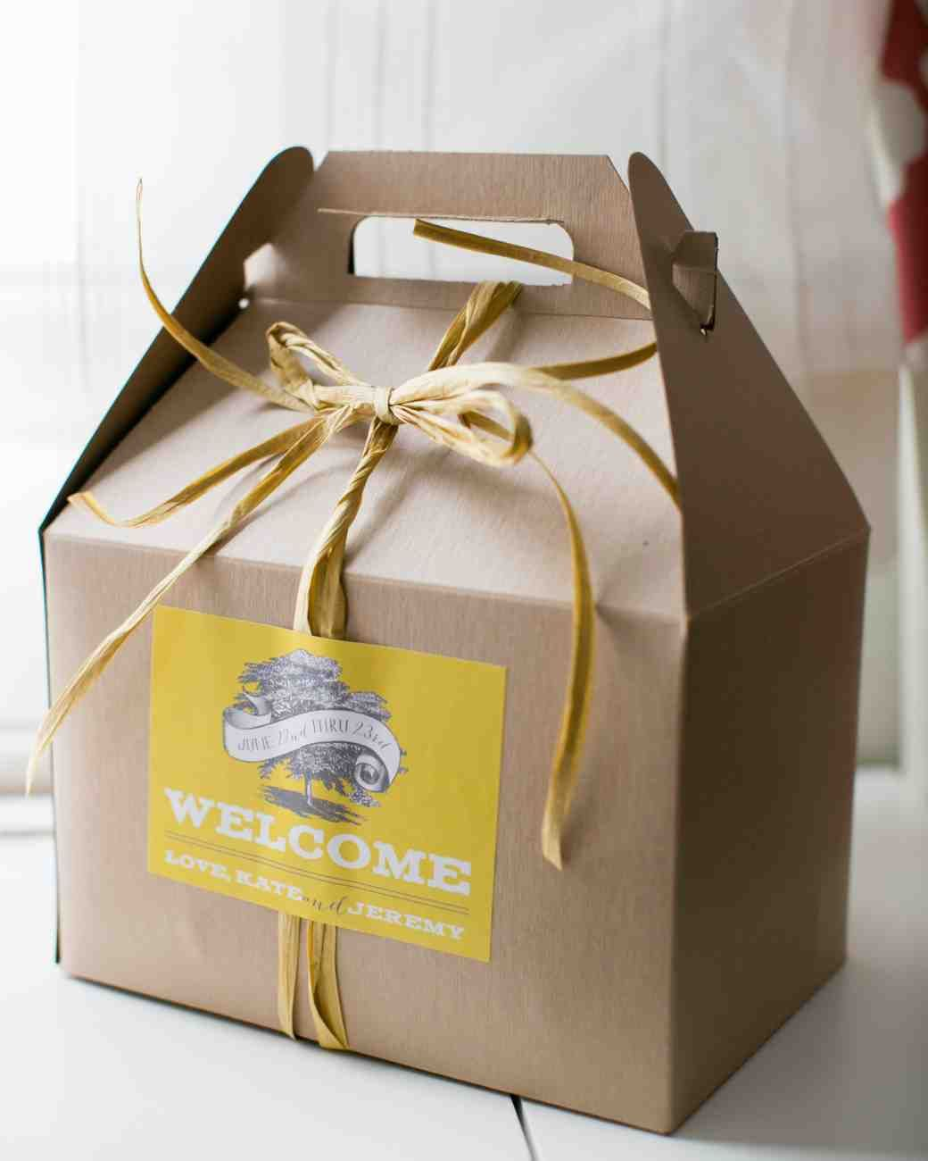 Get Original And Creative Wedding Welcome Bag Gift Ideas For Greeting Out Of Town