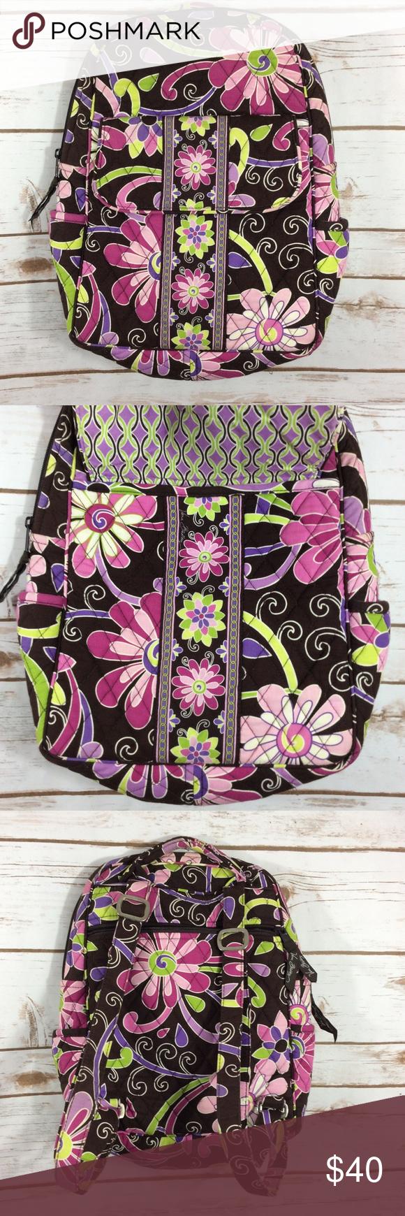 NWOT Vera Bradley purple punch mini backpack NWOT Vera Bradley purple punch  mini backpack. Measures cfe7cf5b3d