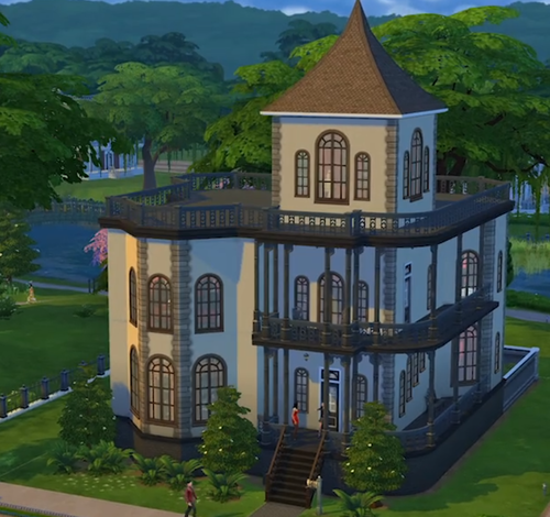 Mortimer and bella goths house in willow creek the new for Willow creek mansion
