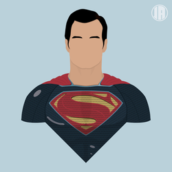 Superman black suit (justice league) by bigoso91 on DeviantArt