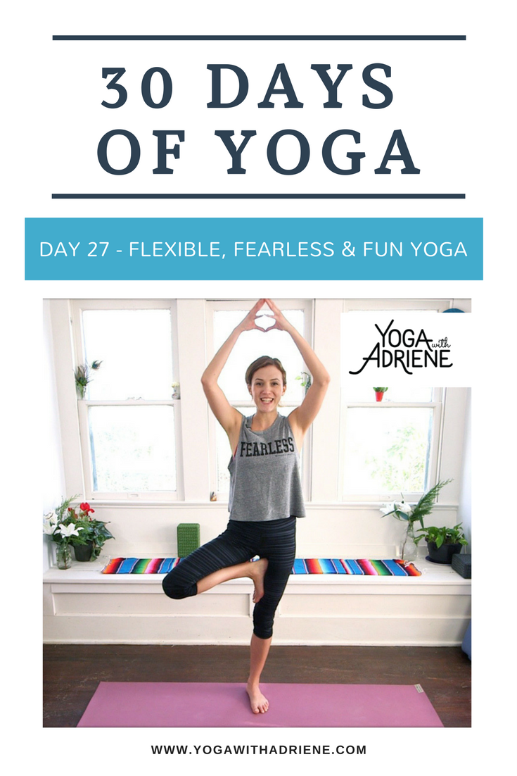 Yoga With Adriene Day 11 : adriene, Ideas, Adriene,, Videos,, Videos
