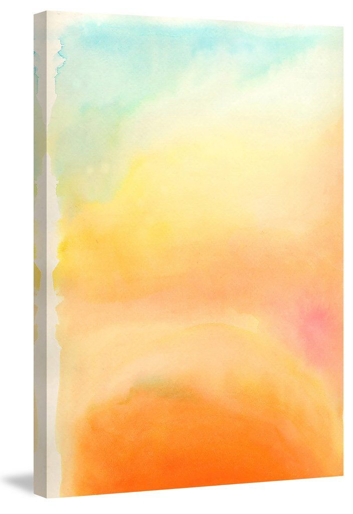 Modesty Abstract Watercolor Canvas Art Prints Painting Prints