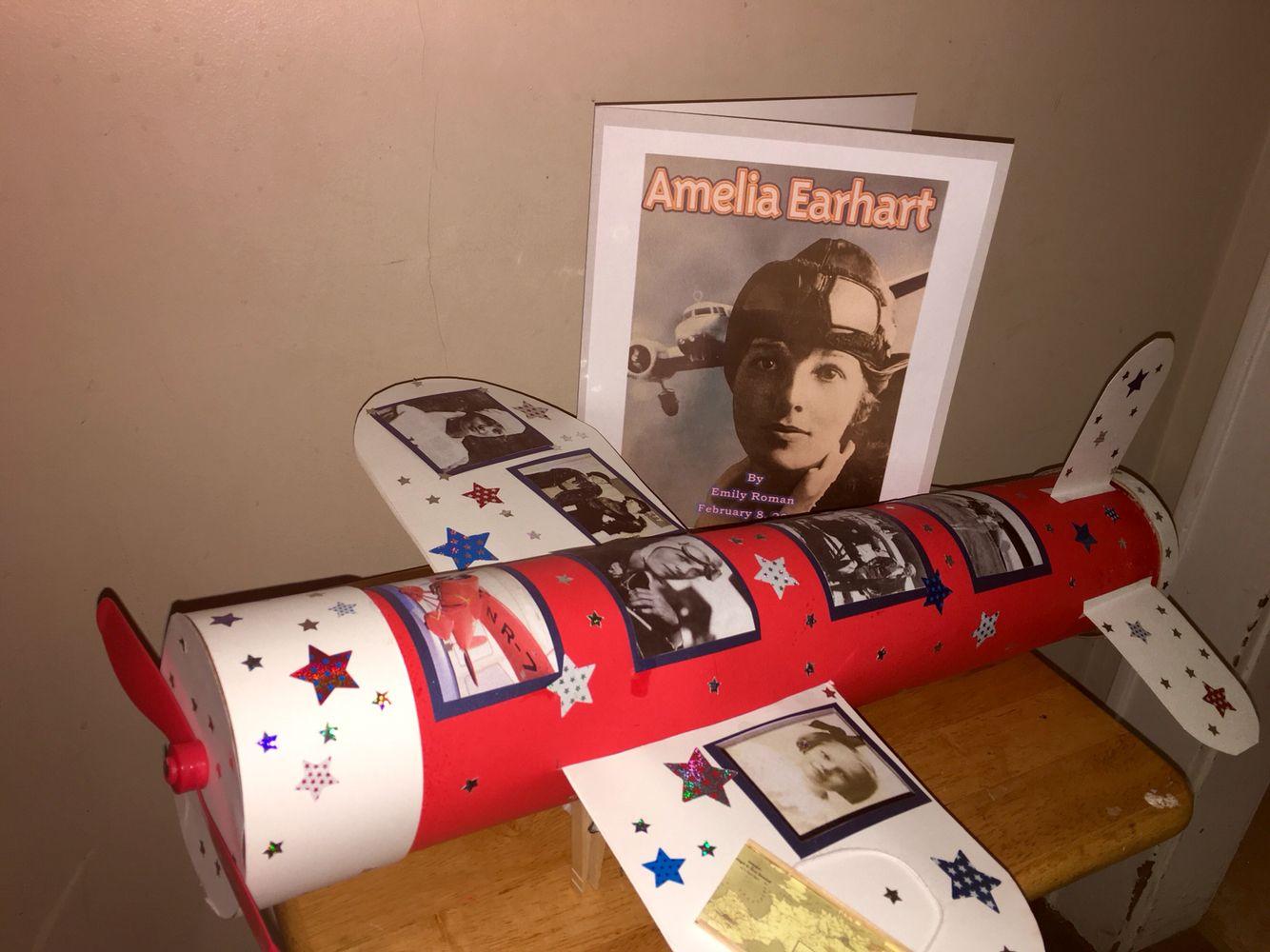 2nd Grade Amelia Earhart Project Ameliaearhart