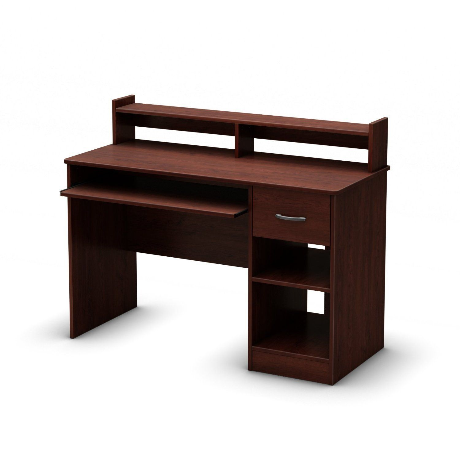 Eco Friendly Computer Desk Table In Cherry  Great For Kids