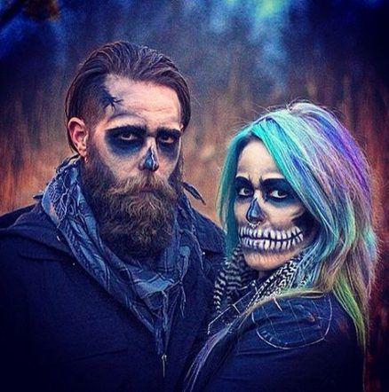 New Makeup Halloween Men Beard 20 Ideas #halloweencostumesformen