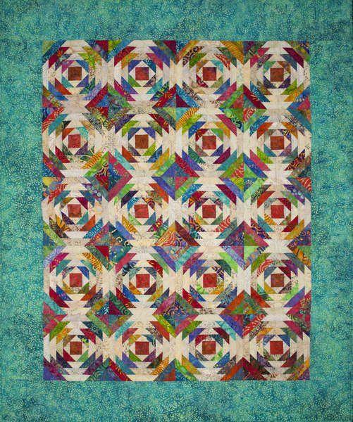 The Pineapple Quilt has been a longtime favorite, but not an ... : pineapple quilt - Adamdwight.com