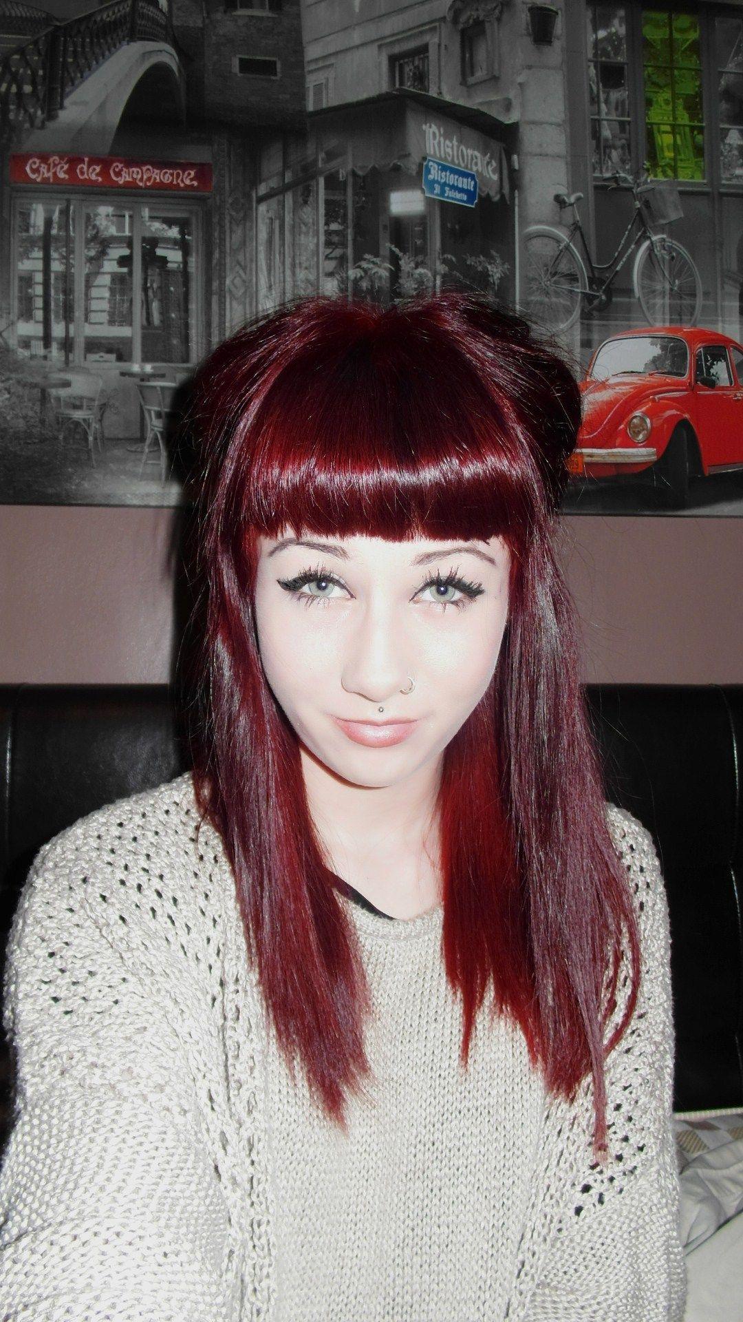 Burgundy hair hair u beauty that i love pinterest cores