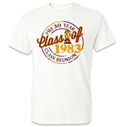 vapor t shirt phs class reunion white vapor t shirt - Class Reunion T Shirt Design Ideas