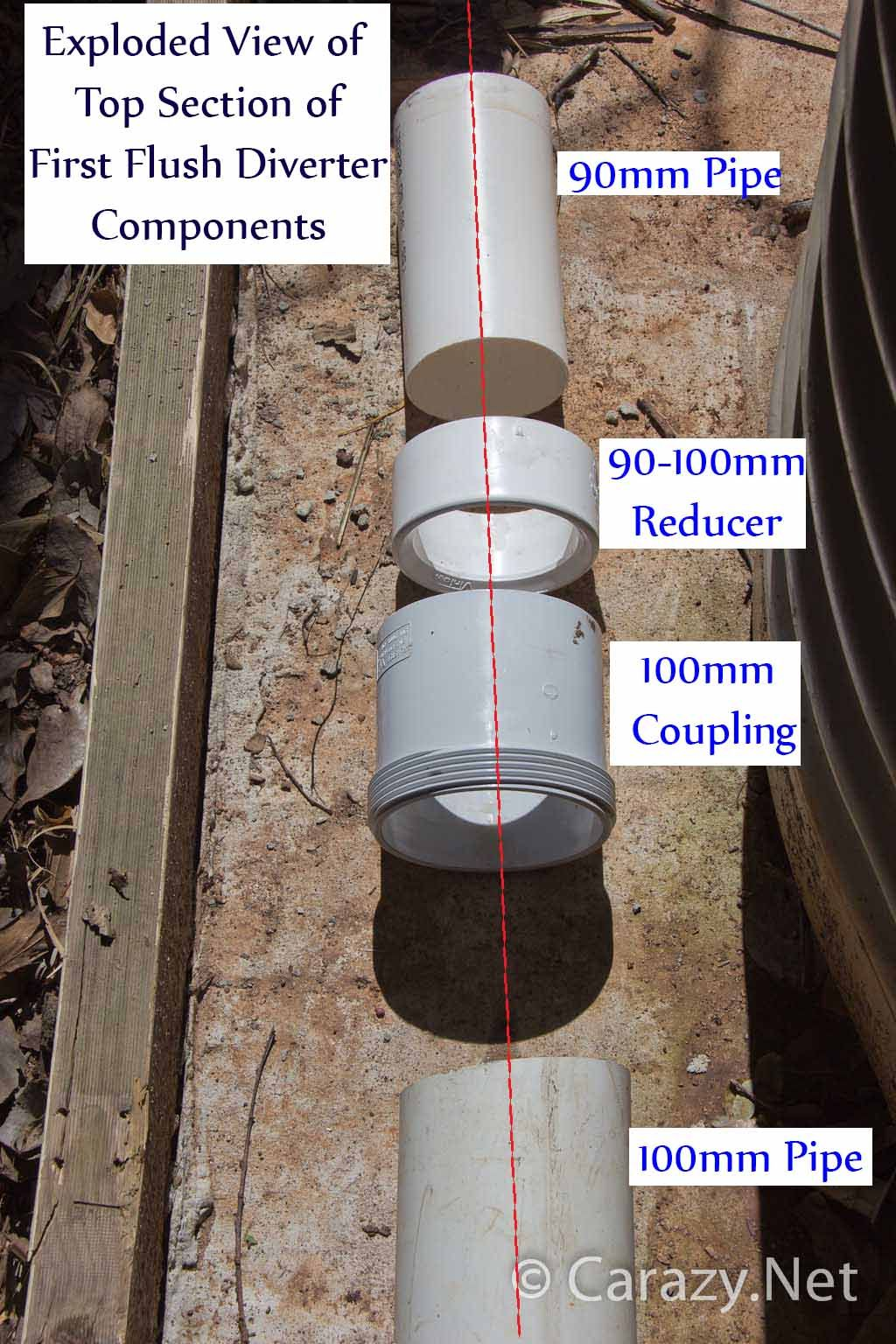 How To Build A Rainwater Tank First Flush Diverter And