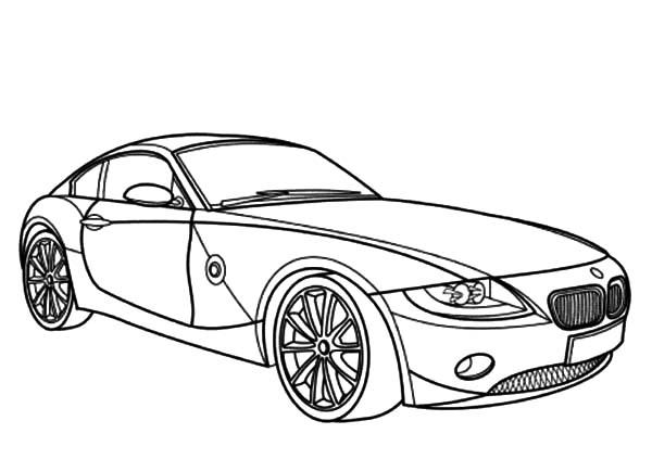 Bmw Car Z4 Coupe Coloring Pages Best Place To Color Ausmalbilder Kostenlose Malvorlagen Ausmalen