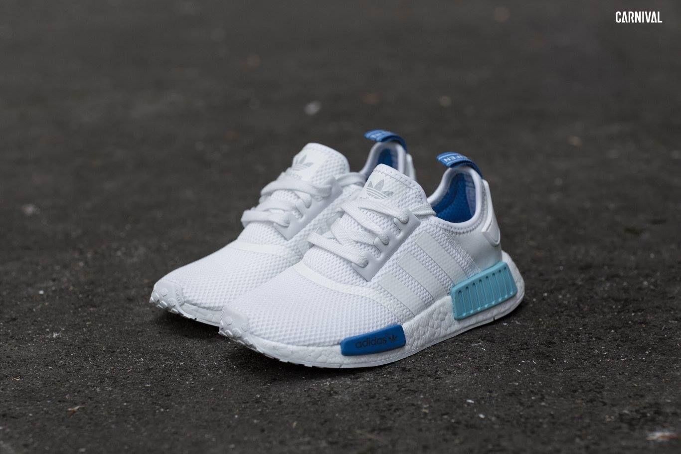 Foroffice Adidas Originals Nmd R1 Women City Pack White Blue