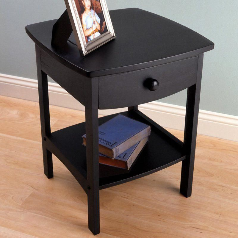 Best Winsome Jericho End Table Bedroom Night Stands 400 x 300