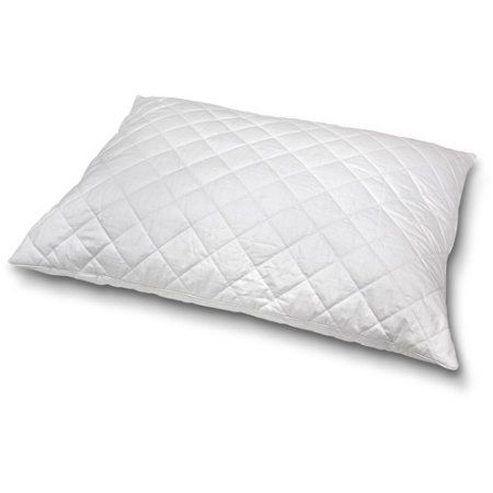 Natural Wool Blend Chamber Style Pillow, White