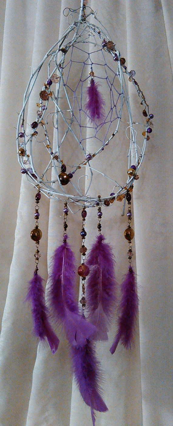 Fairytail Purple & Gold Dream Catcher by CherylwoodForest on Etsy