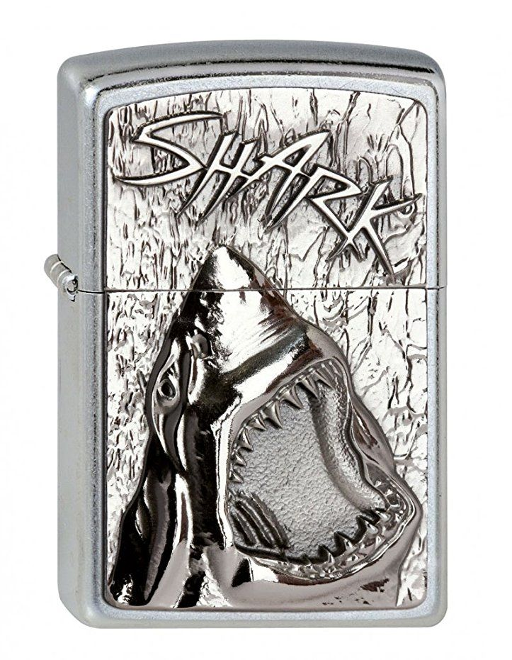 Zippo 2 003 238 Feuerzeuge Shark Emblem Collection 2013 Street